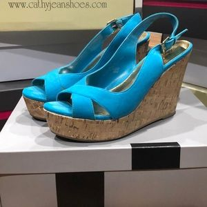 Mossimo Penina Shoes Turquoise